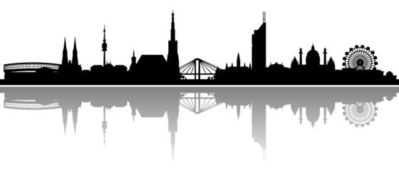 Wien Skyline Panorama