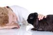Freundschaft mit Kaninchen