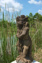 thailändische Statue
