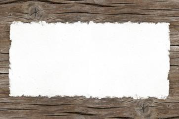 Papel rasgado, banner, fondo