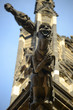 A gargoyle on the Cathedral. Vitus, St. Wenceslas and St. Adalb