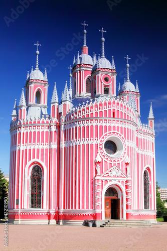 John the Baptist birth (Chesmen)church. St-Petersburg