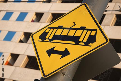 Tramway sign