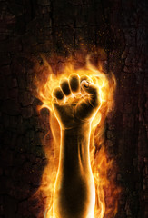Fist of fire
