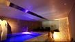 maison, piscine intérieure