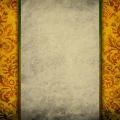vintage scroll background