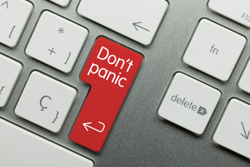 Don't panic keyboard
