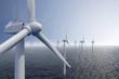 canvas print picture - Wind park