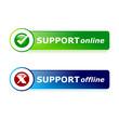 Support online - offline