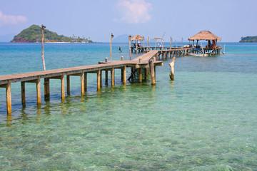 Beautiful tropical beach in Koh Mak , Thailand
