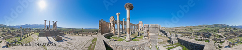 Forum at Volubilis, Morocco
