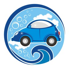 car wash - logo