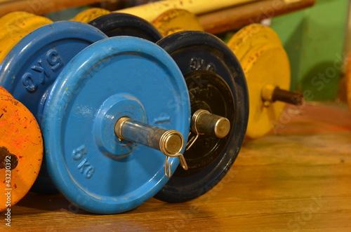 haltères, musculation