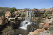 Nieuwoudtville waterfall in South Africa