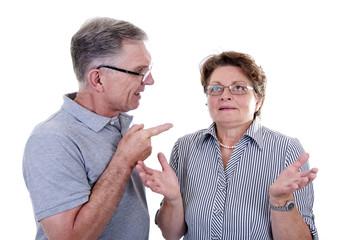 Senioren im Streit