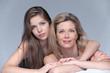 mère et fille glamour