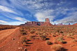 The Navajo Reservation in the U.S.