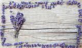 Fototapety Etikett für Lavendelprodukte
