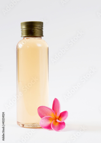 bottle and flora