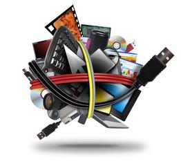 Electronic Technology USB Cord Ball