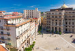 Colorful aerial view of Old Havana