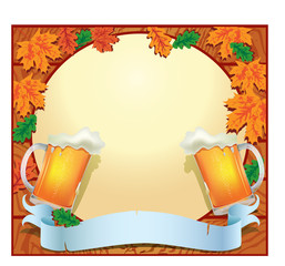 Banner celebration Oktoberfest with space for your text