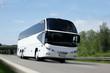 Leinwanddruck Bild - Reisebus