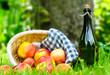 Apfelernte und Apfelwein