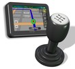 GPS and gear shift knob