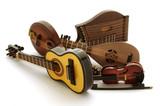 String instruments Instrumentos de corda 弦乐器 문자열 악기 poster