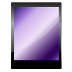 Tablet computer. Vector illustration.