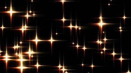 golden stars, loop