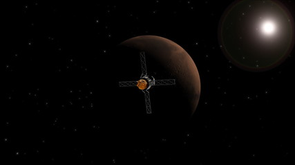 Mariner 9 goes into orbit round Mars.