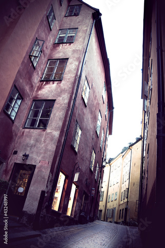 Stockholm old town - 43248997