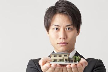 住宅、営業マン