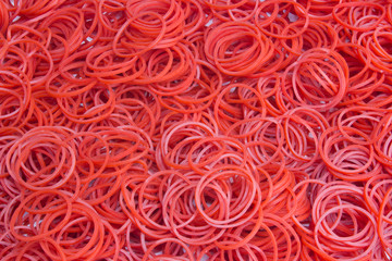 Red elastic band