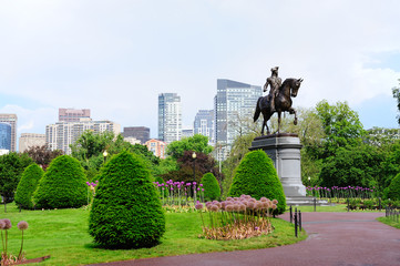 Boston Common park garden