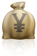 Yen sack