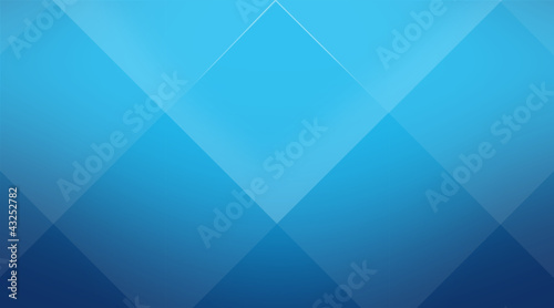 Blue cubic background Cuci