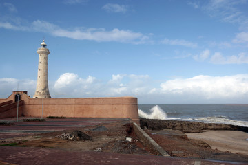 Lighthouse, Rabat, Morocco
