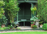 Fototapety Gazebo in an  English Garden