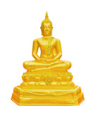 Buddha on white background