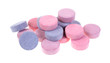 Group of antacid tablets