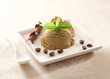 Cool refreshing coffee ice-cream