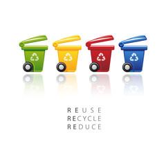 Bidoni per riciclaggio