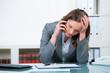 deprimierendes telefongespräch