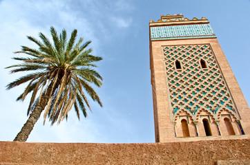 MInaret of a Mosque in Marrakech