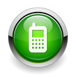 cell-phone web green button