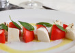 Caprese Mozzarella and tomatoes