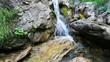 Cascade sauvage d'eau fraiche